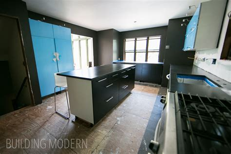 Kitchen: DIY concrete countertops ? reveal
