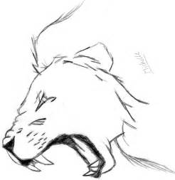 How to Draw Lion Roaring Drawing