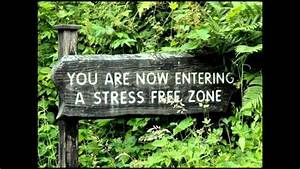 You are now entering a Stress Free Zone - Stress Less ...