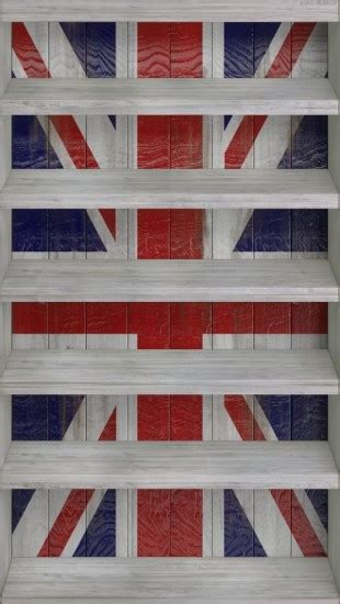 union jack shelves  iphone wallpapers