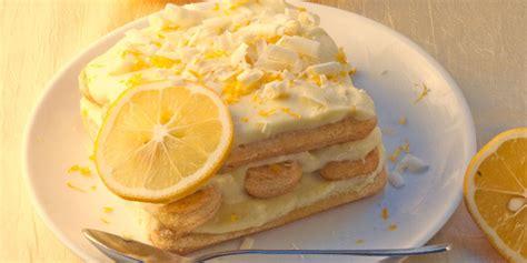 ricetta tiramis 249 al limone roba da donne