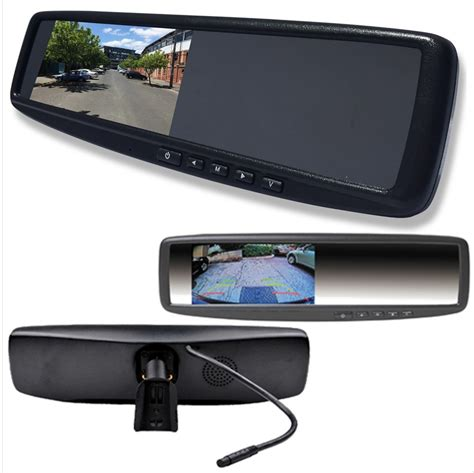 Lcd Rear View Mirror Monitor With Inputs Vehicle