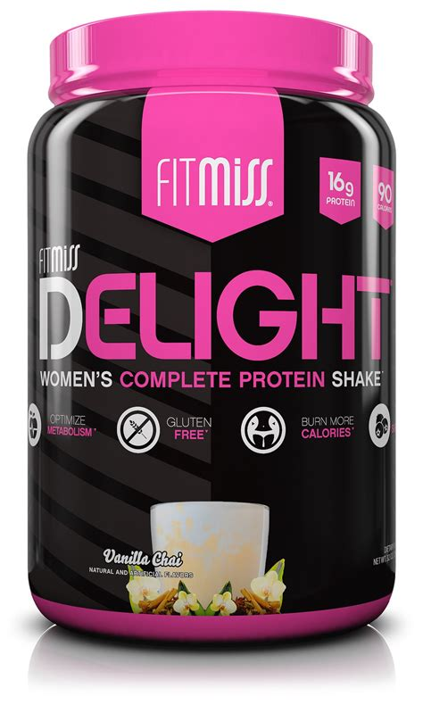 Amazon.com: FitMiss Delight Protein Powder, Healthy