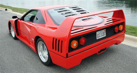 F40 Cost by F40 Replica Costs Less Than A New Ford Focus Rs