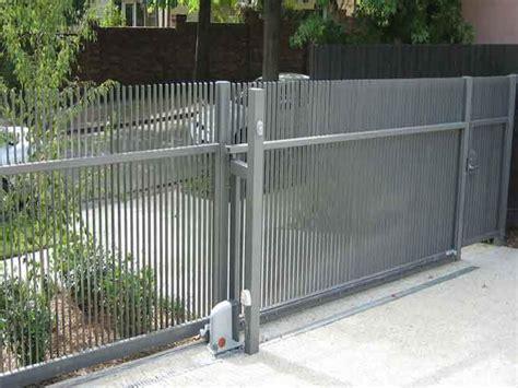 quality gate  fence   property