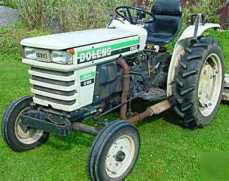 bolens iseki diesel master manual tx1300 1500 g152