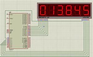 Digital Clock Using 8051 With 7 Segment Display