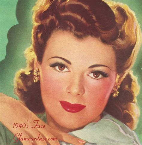 1940s Hair And Makeup   LONG HAIRSTYLES