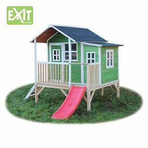 Spielhaus Für Den Garten : kinder spielhaus exit loft 350 kinderspielhaus holzhaus ~ Articles-book.com Haus und Dekorationen