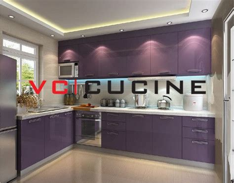 pictures of contemporary kitchens small l shaped kitchen shape pvc purple cabinet for 4198