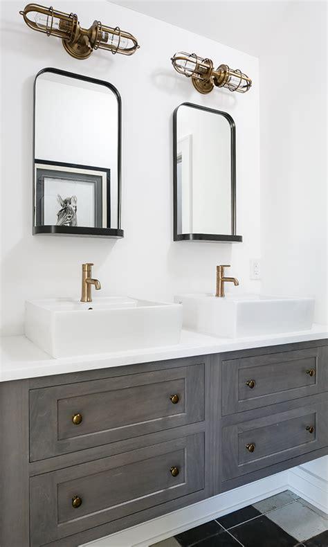 west elm ledged mirror bathrooms bathroom bath