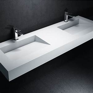 Vasque En Corian : corian yalak lavabo uygulamalar modelleri ~ Premium-room.com Idées de Décoration