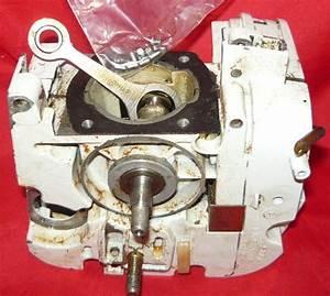 Stihl 011 Avt Chainsaw Crankcase With Crankshaft