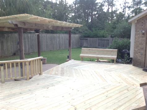 Deck Galveston Tx by Wood Deck Builders In Galveston We Construct