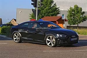 Audi S5 Coupe : 2018 audi rs5 coupe test mule spied in audi s5 coupe overalls autoevolution ~ Melissatoandfro.com Idées de Décoration