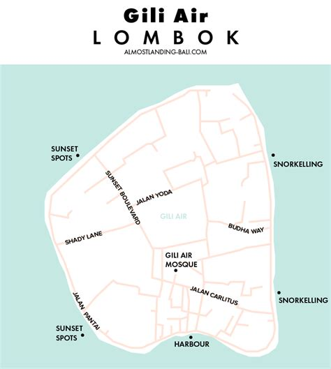 stay  gili air lombok  accommodation guide
