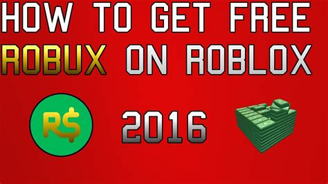 roblox how to get free robux roblox 2016 100 legit youtube