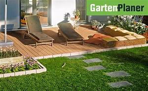 terrassenplatten verlegen terrasse bauen mit obi With garten planen mit platten für balkon