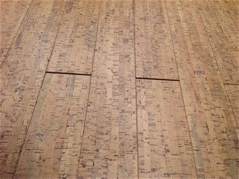 Problem with cork floor