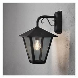 Luminaire Exterieur D Angle : luminaire exterieur gianna noir achat vente lampion ~ Edinachiropracticcenter.com Idées de Décoration