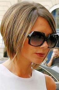 Victoria Beckham Short Bob Haircut