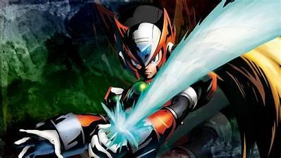 Megaman Zero Fan Rock Games Wallpapersafari Curiosidades