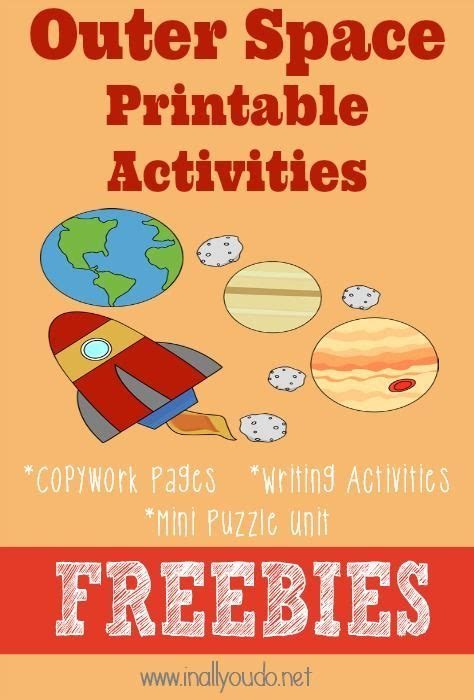 best 25 space printables ideas on space theme 761 | ab13ee04e84eafb2534110e7fce41fe8 space preschool outer space activities kindergarten