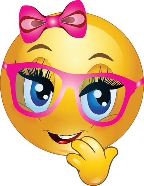 Girl Smiley Emoticons