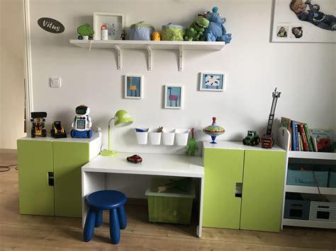 Kinderzimmer Junge Stuva by Boys Working Place Ikea Stuva Kinderzimmer Jungs