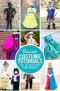 28 DIY Disney Costume Tutorials   that are MUCH cuter than purchased   Diy Disney Costumes