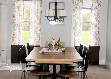 extraordinary dining room window treatment ideas images