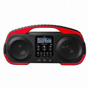 Enceinte Radio Bluetooth : sdigital x3808 rouge x3808 rouge achat vente dock ~ Melissatoandfro.com Idées de Décoration