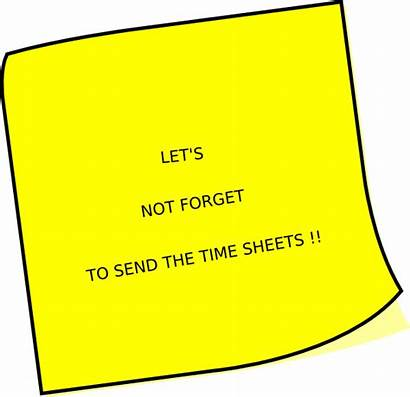 Reminder Timesheet Clip Clipart Humor Cliparts Funny