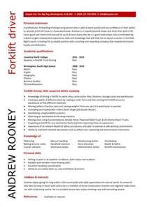 curriculum vitae layout 2013 calendar forklift resume exles new calendar template site