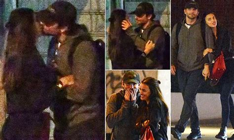 Bradley Cooper And Model Irina Shayk Spotted Making Out At