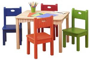 Grey Table And Chairs wooden table and chairs for kids homesfeed
