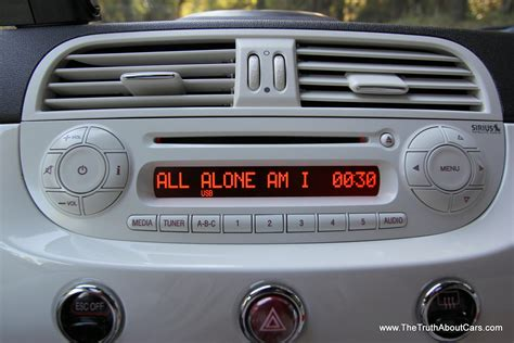 fiat 500 radio review 2013 fiat 500e electric the about cars