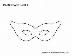 Masquerade And Mardi Gras Mask Templates