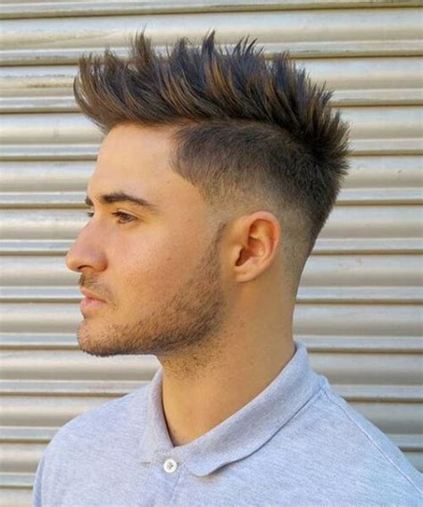 boys hair style spike 50 cool spiky hairstyles for menhairstylist 7193