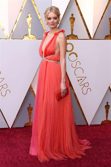 Samara Weaving Oscars Red Carpet
