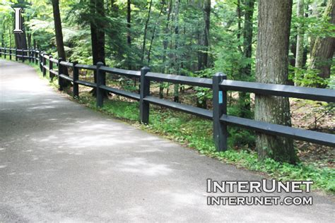 rails lumber fence black interunet