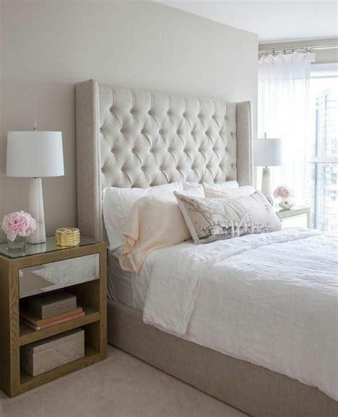 tete de lit chambre choisissez un lit en cuir pour bien meubler la chambre à