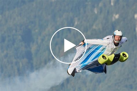 BMW's Insane Electrified Wingsuit Officially Takes Flight ...