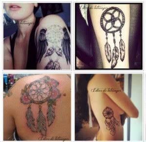 Tatouage Attrape Reve Homme : tatouage attrape reve femme bras omoplate cote femme ~ Melissatoandfro.com Idées de Décoration