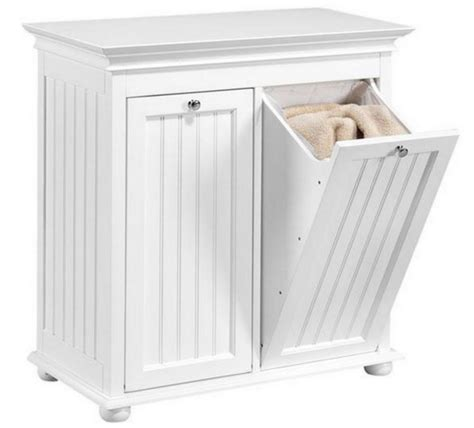 tilt out storage cabinet home double wood tilt out laundry her storage shelf