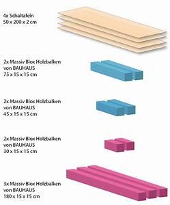 Massiv Blox Holzbalken : holzbett selber bauen bauhaus massiv blox holzbalken l x b x h 210 x 15 x 15 cm buche bauhaus ~ Eleganceandgraceweddings.com Haus und Dekorationen