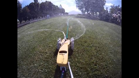 water lawn tractor sprinkler timelapse youtube