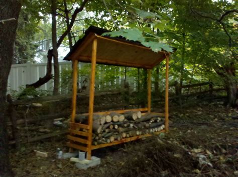 wood shed plans   firewood dry   sufficient living