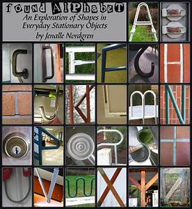 found alphabet jenalle39s evcc journal With alphabet letters with objects