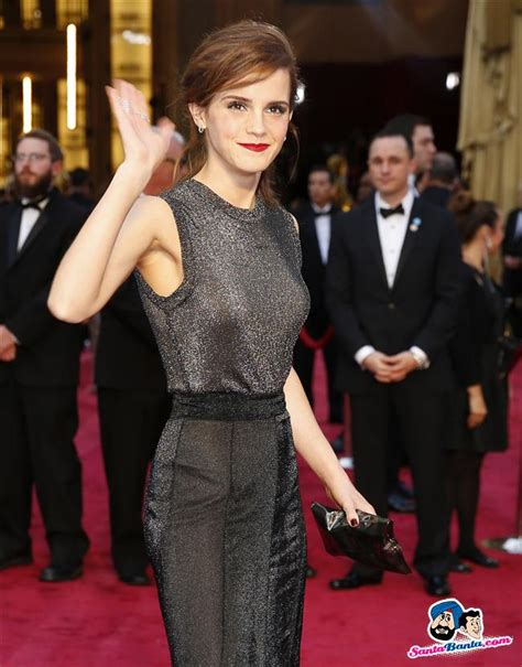 Actress Emma Watson Arrives The Red Carpet